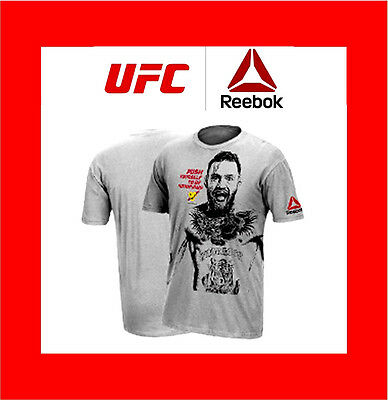 Conor McGregor Reebok Limited Edition T-Shirt BSN MMA UFC ON