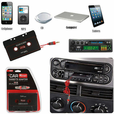 Car Audio Tape Cassette to Jack AUX for IPOD MP3 IPhone 3.5mm Connector - CT