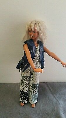 kenner dusty doll  gmfgi 70s era rocker vtg. Barbie style blonde Head banger