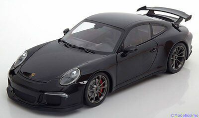 1:18 Minichamps Porsche 911 (991) GT3 2013 black-metallic