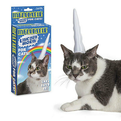 Cat Unicorn Horn Gift Crazy Cat Lady Unicorn Novelty Funny Present Cat Lover