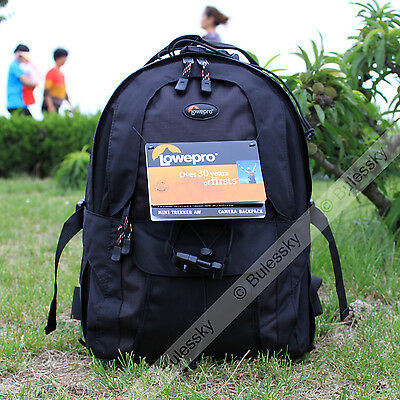 New Lowepro Mini Trekker AW DSLR Camera Photo Bag Backpack with Weather Cover