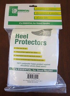 Essential Medical Supply Heel Protectors 1 Pair One Size Fits All