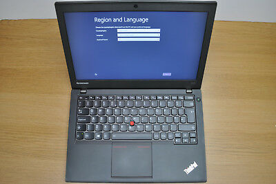 "Lenovo Thinkpad X240 Core i7-4600u 12.5"" 3.3GHz Windows 8 Pro 240Gb SSD / 8Gb"