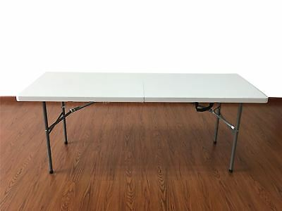 "6 Ft Exhibit Folding Table (6 Feet x 24"" W x 30"" H) NEW"