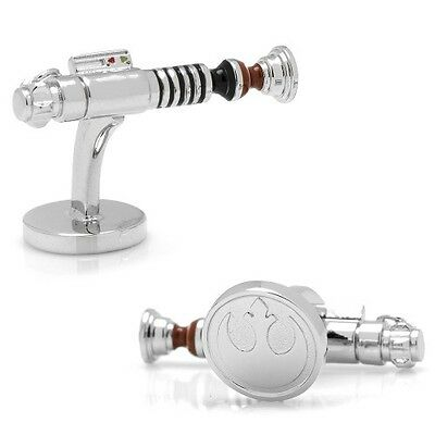 Gemelos Star Wars Luke Skywalker Lightsaber 3D Cufflinks