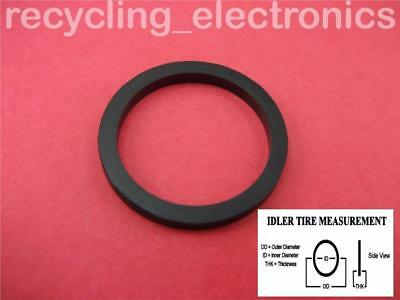 Idler Tire For Deck & VCR OD = 18 mm ID = 14 mm THK = 2 mm