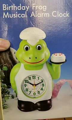 Birthday Frog Musical Alarm For Kids.new And Old Stock. Excellent Condition.