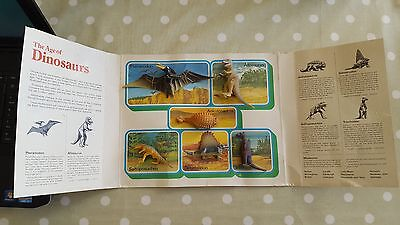 Chivers Jelly How the World Began The Age of Dinosaurs 1977 Inpro Vintage Set