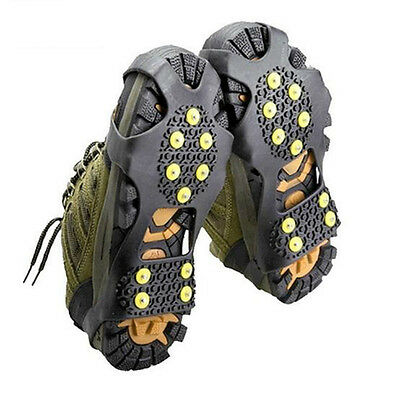 10 Studs For Anti Slip Shoes Boots Grips Ice Cleats Spikes&Snow Gripper