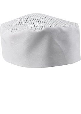 White Chef Hat - Adjustable. One Size Fits Most.