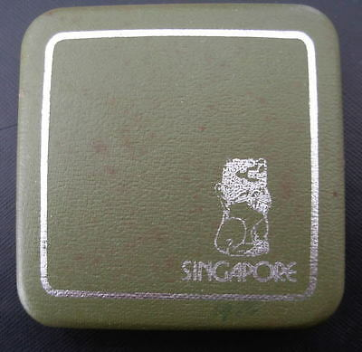 Singapore 1976 Silver $1 Proof with Original Box and Certificate of Authenticity