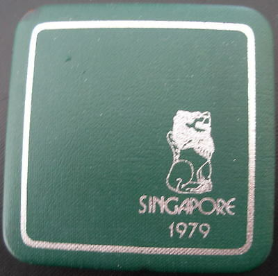 Singapore 1979 Silver $1 Proof with Original Box and Certificate of Authenticity