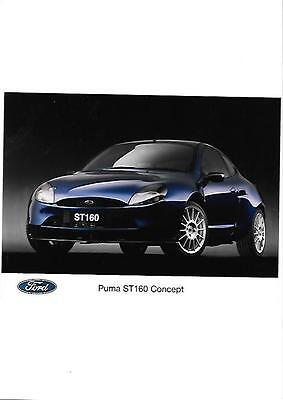 FORD PUMA ST160 CONCEPT FULL COLOUR PRESS PHOTO 'brochure related'