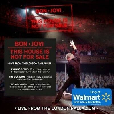 BON JOVI This House Is Not for Sale LIVE from the London Palladium  CD