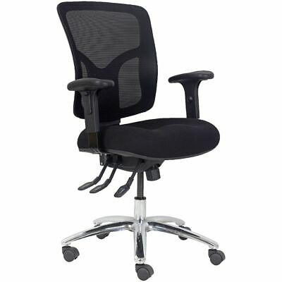 Professional Ergonomic Extra-Heavy-Duty Mesh Chair Black