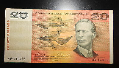 COMMONWEALTH OF Australia $20 Note ( C of A )