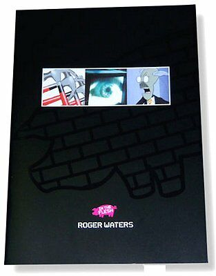 Roger Waters In The Flesh 2000 Black Cover Tour Book New Nos Pink Floyd