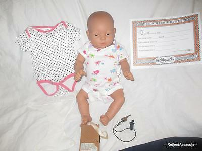 RARE Baby Think It Over Doll G5 Generation 5 White Caucasian Female Girl +Extras
