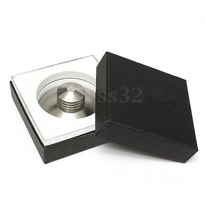 Stainless Steel 380g Record Weight LP Disc Stabilizer Turntable Clamp HiFi