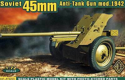 ACE - 45mm 45 mm AT Anti Tank model 1942 model kit 1:72 NIP set PAK
