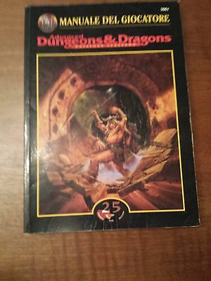 Advanced Dungeons & Dragons MANUALE DEL GIOCATORE 1997 TSR 25 AD&D