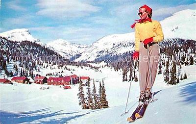72762709 Banff Canada Winter Sports in the Canadian Rockies Sunshine Valley Banf