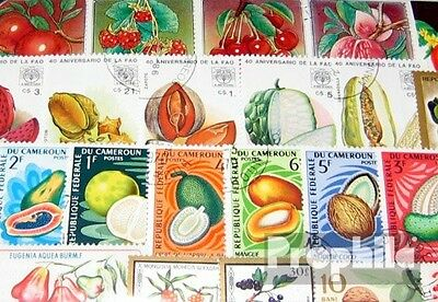 Motives 100 different Fruits stamps