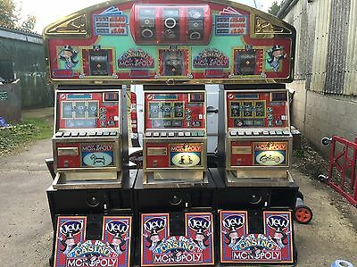 Monopoly 3 Player Fruit Machine