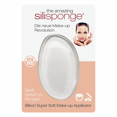 Silisponge ® (Original!) Silikon Make-up Applikator • BPA Frei • SGS geprüft