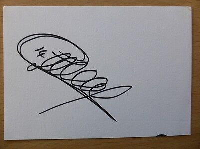 Hand Signed Football Index Cards *****H***** Page 4