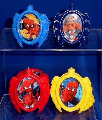Spider-Man Themed Lot Set of 19 DIY Party Decor Decorating Pieces Hang Sit B032