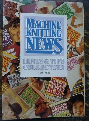 Machine Knitting News Hints and Tips Booklet