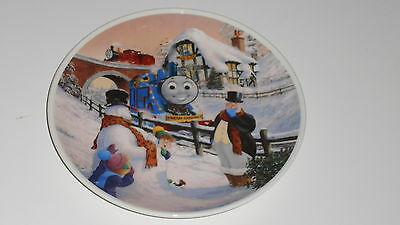 Wedgwood China Thomas the Tank Engine James Merry Christmas ceramic plate 20.5cm