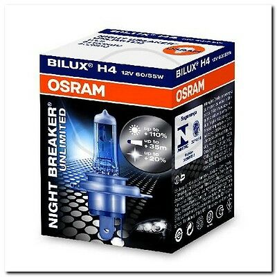 Lampe H4 12V60/55W Night Breaker Unlimited BULB H4 12v 60/55w