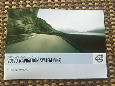 07 2007 Volvo C30 S40 C70 XC90 Navigation System Owners Owner's Manual Book OEM