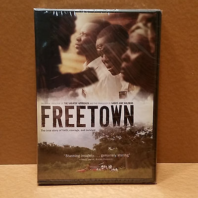BRAND NEW SEALED Freetown Faith Courage Survival DVD