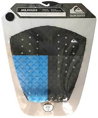 Quiksilver Jailhouse Traction Pad - Blue / Black / Grey - New