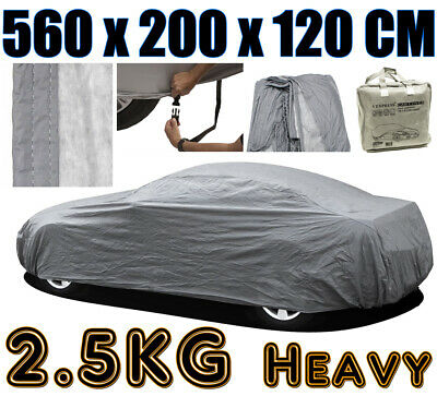 Heavy 2.5KG XXL Full CAR COVER 100% WATERPROOF OUTDOOR BREATHABLE RAIN SNOW