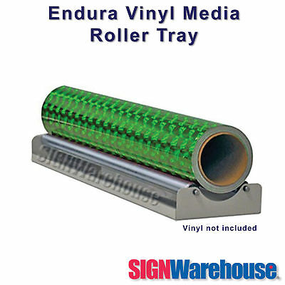 Endura Vinyl Media Roller Tray for all cutters plotters w/ sign craft bundle kit
