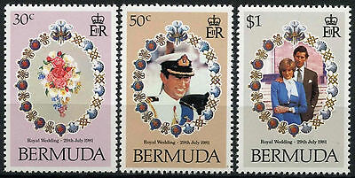 Bermuda 1981 Royal Wedding MNH