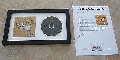BB King Deuces Wild Signed Autographed Framed CD Display PSA Certified