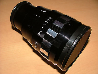 SINGER 16-D ANAMORPHIC LENS FOR 16mm PROJECTOR  - OUTSTANDING LIKE NEW CONDITION
