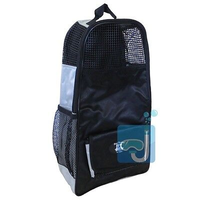 Tusa Reef Tourer Travel Bag for Snorkeling Travel Fins - Black - NEW