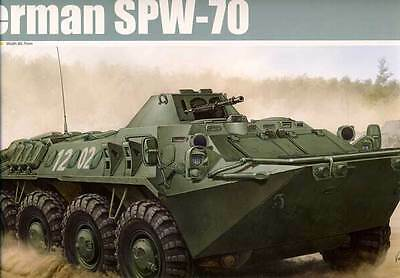 Trumpeter - German SPW-70 Wheel panzer Troop transport model kit - 1:35 new