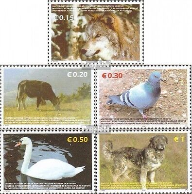 kosovo (UN-Administration) 45-49 mint never hinged mnh 2006 Animals