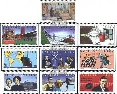 Sweden 2071-2080 (complete issue) unmounted mint / never hinged 1998 20. Century