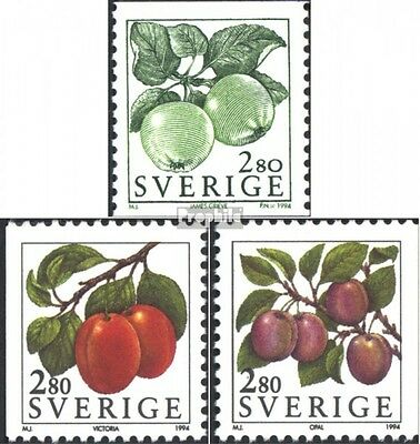 Sweden 1808-1810 (complete issue) unmounted mint / never hinged 1994 Berries and