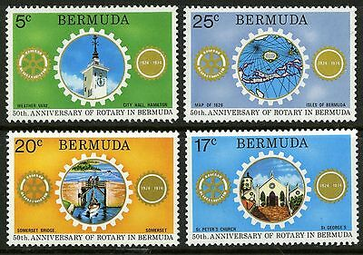 Bermuda 1974 Rotary International MNH