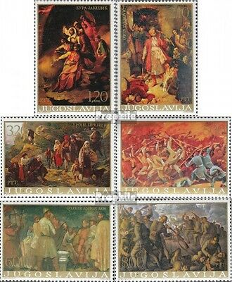 Yugoslavia 1666-1671 (complete issue) unmounted mint / never hinged 1976 history